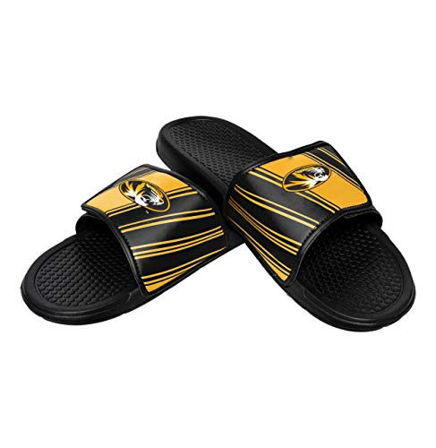 Tigers Flip Flop Sandals - NCAA Missouri Tigers Mens Legacy Sport SlideLegacy Sport Slide, Team Color, Medium/ Mens Size 9-10