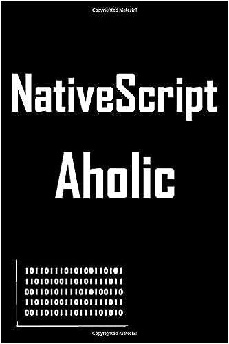 NativeScript Coding Journal: Lined Notebook