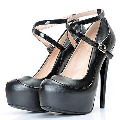 Da donna-Tacchi-Ufficio e lavoro / Formale / Casual / Serata e festa-Plateau / Others / Cinturino alla caviglia-A stiletto-Finta pelle-