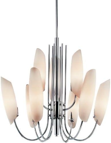 Kichler 42213CH Stella Chandelier 9-Light, Chrome