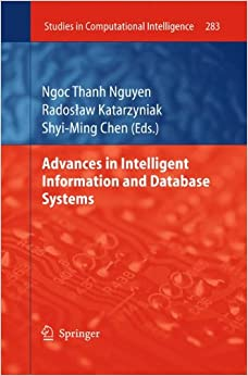 Book Advances in Intelligent Information and Database Systems (Studies in Computational Intelligence)