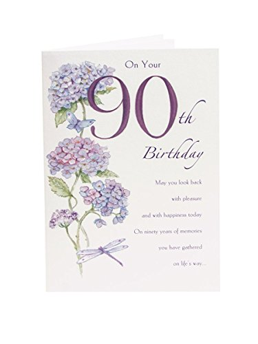 90th Birthday Card 530979 -