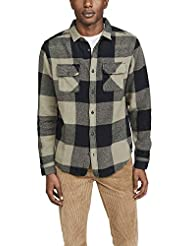 RVCA Men's Haywire Plaid Button-Up Flannel