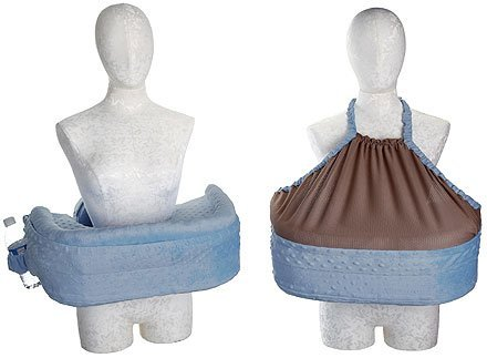 San Diego Bebe Nursing Pillow With Matching Privacy Cover - Blue by San Diego Bebe