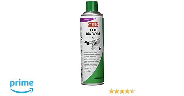 CRC - Anti Proyecciones De Soldadura En Spray, Base Agua. Eco Bio Weld 500 Ml: Amazon.es: Bricolaje y herramientas