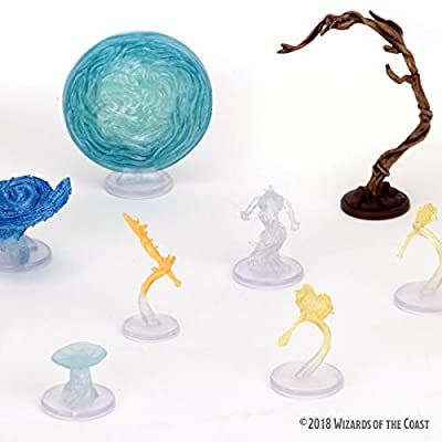 Dungeons & Dragons Spell Effects: Arcane Fury and Divine Might: Toys & Games