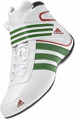 Chaussures bottines de karting ADIDAS KART XLT BLANCVERT