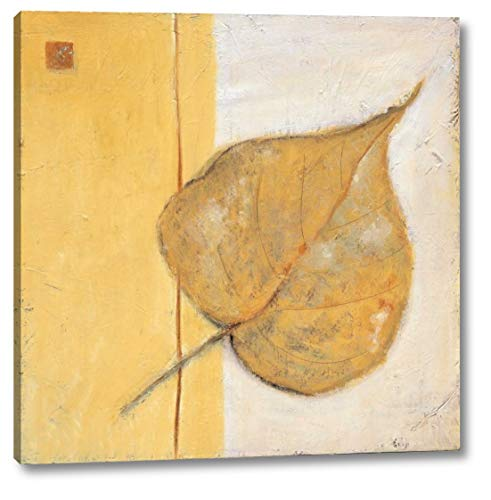 (Leaf Impression - Ochre by Ursula Salemink-Roos - 19