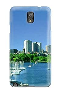 QCRbaTB3353bwTVb Tpu Case Skin Protector For Galaxy Note 3 Sydney City With Nice Appearance