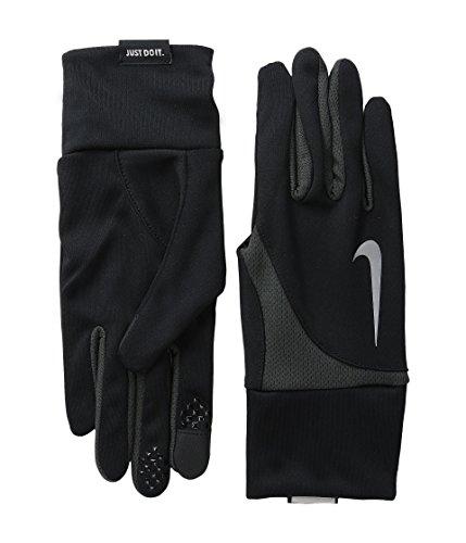 Nike Men's Dri-Fit Tailwind Run Gloves (Medium, Black/Anthracite)