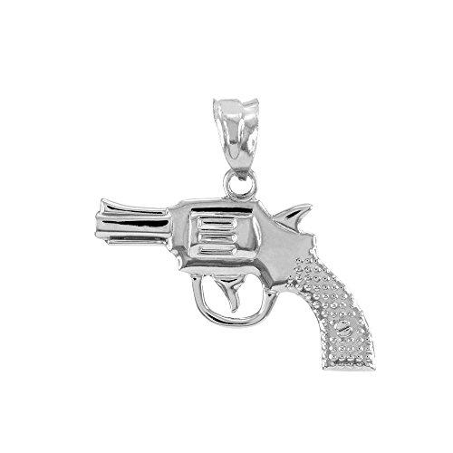 Sterling Silver Pistol - 8