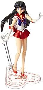 "Bandai Tamashii Nations S.H.Figuarts Super Sailor Mars ""Sailor Moon Super S"" Action Figure"