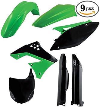 Acerbis 2198050145 Plastic Kit, Pack of 9