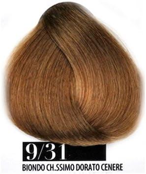 Tinte Pelo 9/31 Rubio Claro Dorado ceniza farmagan Hair Color ...