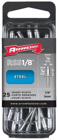 Medium Steel Rivet (5 Pack Arrow Fastener RSS1/8 1/8