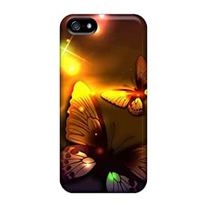 Butterfly Lights Ii Fashion Tpu 5/5s Case Cover For Iphone