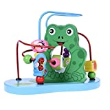 Wooden Toys, Baby Activity Center, Wood Bead Maze for Toddlers, Gift for Boys & Girls, Educational Learning Toys for Kids Xmas Gift for Kids