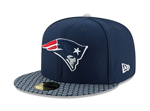New Era 59Fifty Cap - NFL SIDELINE 2017 New England Partriots (7 1/4)