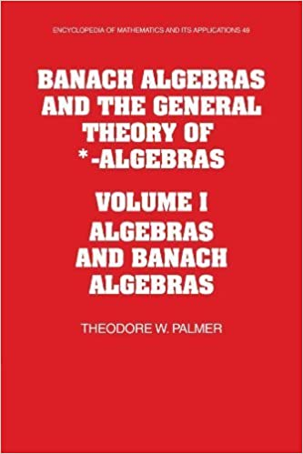Banach Algebras and the General Theory of *-Algebras: Volume 1, Algebras and Banach Algebras (Encyclopedia of Mathematics and its Applications) 1st edition by Palmer, Theodore W. (2009)