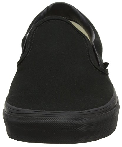 Black Unisex Black Adulto Slip Vans On Classic Zapatillas w4IYTq8A