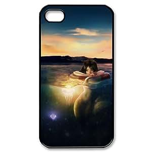 Jellyfish CHA8030582 Phone Back Case Customized Art Print Design Hard Shell Protection Iphone 4,4S