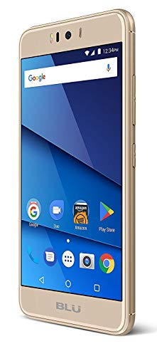 BLU R2 LTE 32GB Unlocked GSM 4G LTE Android Smartphone w/ 13MP+13MP Cameras, Gold