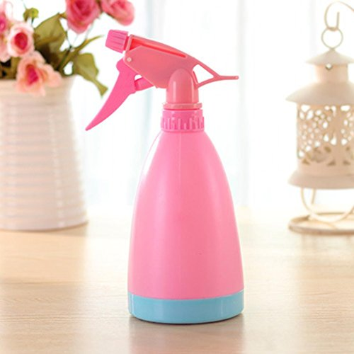Refillable Burgundy (Caopixx Water Spray For Salon Plants Plastic Refillable Flower Plant Spray Bottle Water Sprayer (Pink))