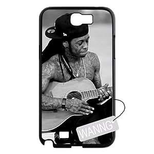 Lil Wayne Samsung Galaxy Note2 N7100 Cell Phone Case, Lil Wayne Custom Case for Samsung Galaxy Note2 N7100 at WANNG
