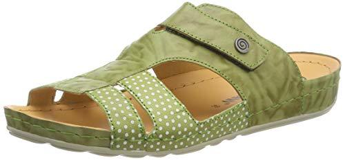Grün 701206 pantolette Damen 7 Brinkmann Dr q64tU6