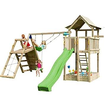 MASGAMES Parque Infantil Torre Pagoda con @Challenger: Amazon.es: Juguetes y juegos