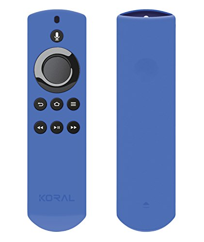 Koral Case for Alexa Voice Remote for Fire TV Stick, Fire TV Streaming Media Player, and Fire TV Cube (Royal...