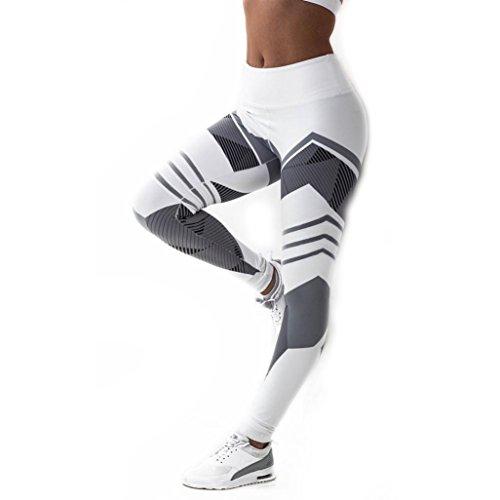 Patchwork Yoga Pants, Women's Sports Gym Yoga Workout