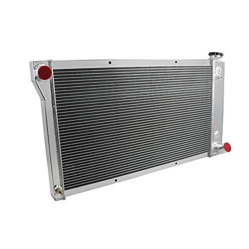 OzCoolingParts 67-72 Chevy/GMC C/K/S/T-Series Radiator, 4 Row Core Aluminum Radiator for 1967-1972 1967 1969 1970 71 Chevy Blazer/GMC Jimmy C10/C20/K10/K20/K30 S/T 35/3500 K5/K15/K1500 Pickup Truck (1970 Chevy)