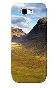 New Arrival Premium Galaxy Note 2 Case Cover With Appearance (mountain Valley)
