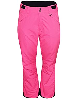 Women's Plus Size Technical Insulated Snow Pants