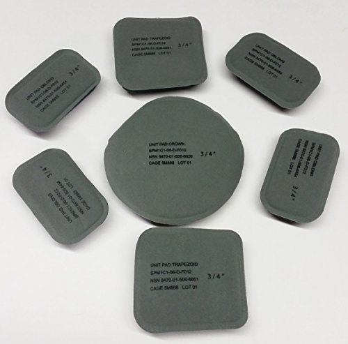 New Original Us Army Issue Pads Set 7 Pads For The Ach