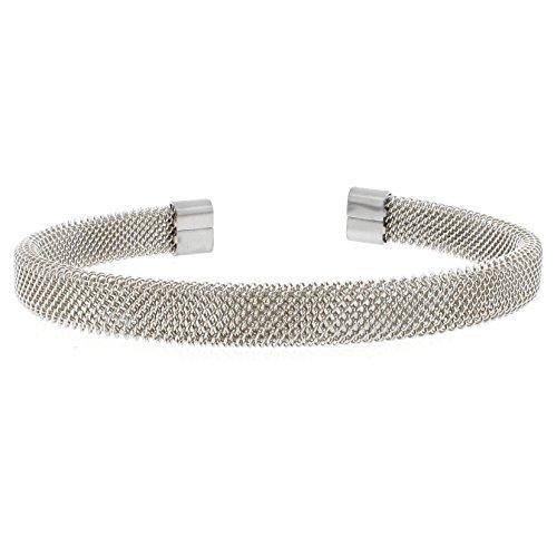 Metro Jewelry Stainless Steel Cuff Bracelet (Dangle Cuff Bracelet)