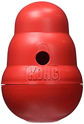 KONG Wobbler Treat Dispensing Dog Toy Large