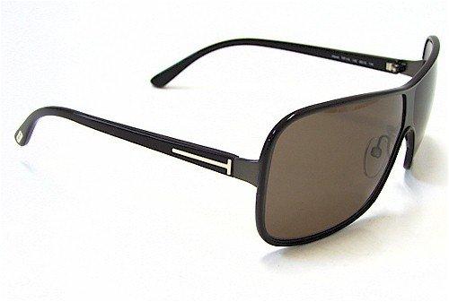 7dc6a04f92 TOM FORD Alexei TF116 Sunglasses TF-116 Dark Brown 13E  Amazon.co.uk   Clothing