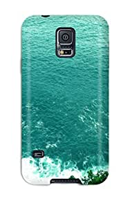 Faddish Phone Sea And The Hills Case For Galaxy S5 / Perfect Case Cover