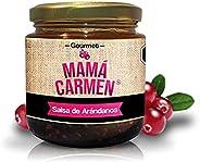 Salsa de Arándano 100% Artesanal Gourmet 330g