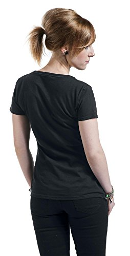 Goodie Two Sleeves The Last Unicorn Camiseta Mujer Negro Negro