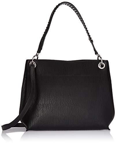 Calvin Klein Raya Bubble Lamb Novelty Woven Chain Hobo, Black Calvin Klein Hobo Bag