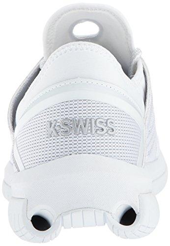 K-swiss Mens Duizenden Buizen Tennisschoengrootte Wit / Blauw Dageraad
