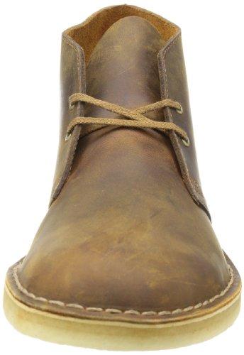 Clarks Desert Boot - Botines desert de cuero hombre Marrón (Beeswax)