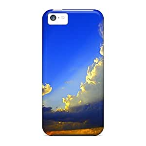 5c Scratch-proof Protection Case Cover For Iphone/ Hot Torch Of Nature Phone Case