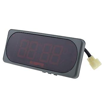 Sharplace Pantalla Digital Multifunción Reloj Electrónico Calendario a Prueba de Agua - Reloj Calendario: Amazon.es: Coche y moto