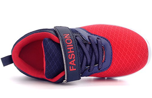 Pictures of DADAWEN Boys & Girls Lightweight Sneakers Breathable Athletic 5