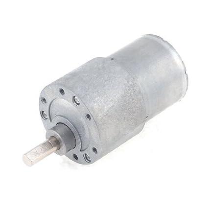Forma DealMux 12VDC 30rpm cilindro redutor de velocidade do motor elétrico Voltada - - Amazon.com