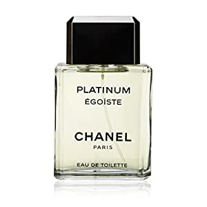 Amazon.com : Egoiste Platinum by Chanel for Men, Eau De Toilette Spray, 3.4 Ounce : Beauty